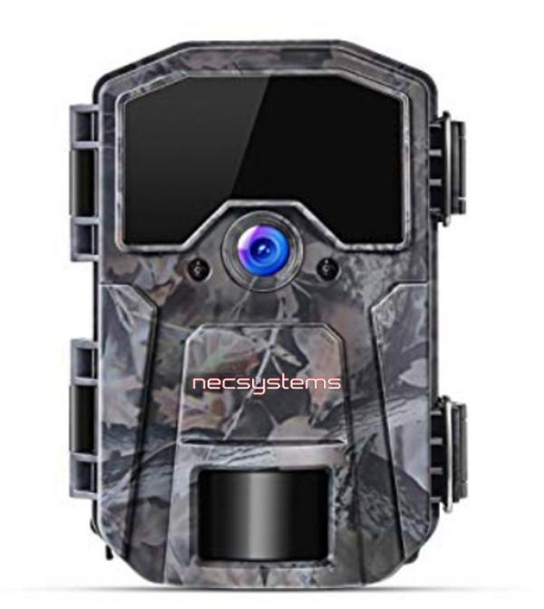 cámara de videovigilancia camuflada